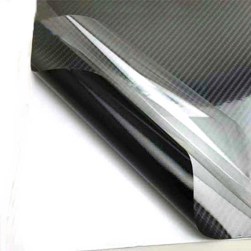 DIY 5D Glossy Carbon Fiber Wrap Vinyl Decal Film Sticker Car Air Release Wrap