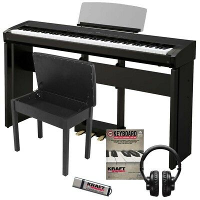 Kawai ES8 Digital Piano - Black COMPLETE HOME BUNDLE