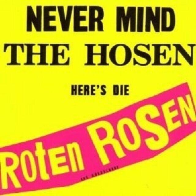 DIE ROTEN ROSEN-NEVER MIND THE HOSEN-HERE'S DI...CD REMASTERED NEU