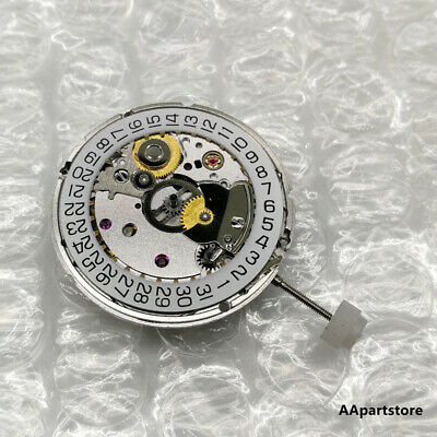 New Silver Watch Movement Seagull ST2130 For ETA 2824-2 Mechanical US Eta Watch Parts