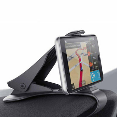 Universal Clip On Car HUD GPS Dashboard Mount Cell Phone Holder None-slip Stand