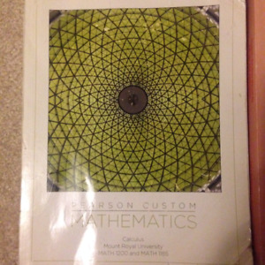 MRU 1200 Calculus Texbook AND Solution Manual