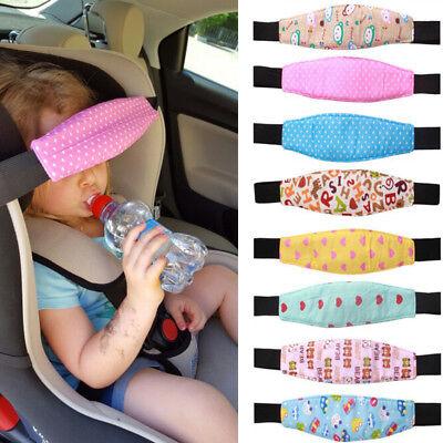 Baby Head Support Stroller Car Seat Fastening Belt Sleep Safety Strap (Adjustable Head Support)