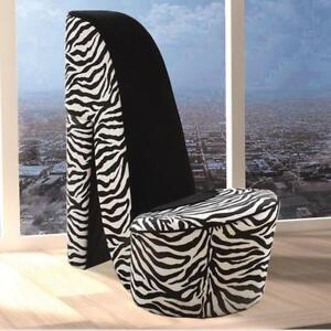 Awesome Deal! In-Store Special Deal Zebra Print Shoe Chairs!