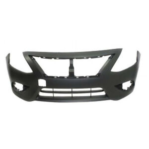 New Painted 2015-2018 Nissan Versa Sedan Front Bumper