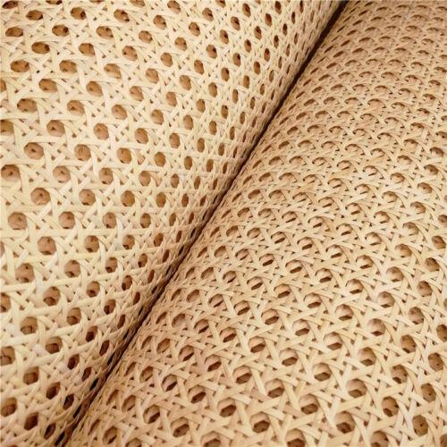 15 Meters 60 CM Natural Indonesian Rattan Woven Cane Webbing Mesh Furniture DIY