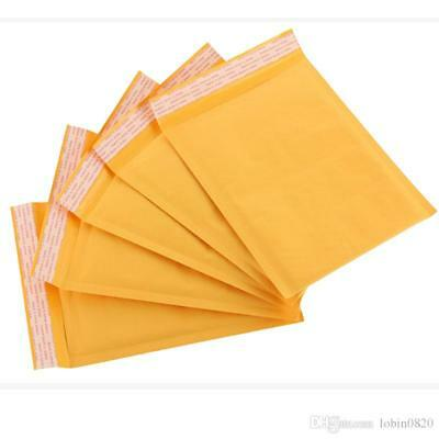 250 Kraft Selfseal Bubble Mailer Padded Envelopes Size 0 6x10
