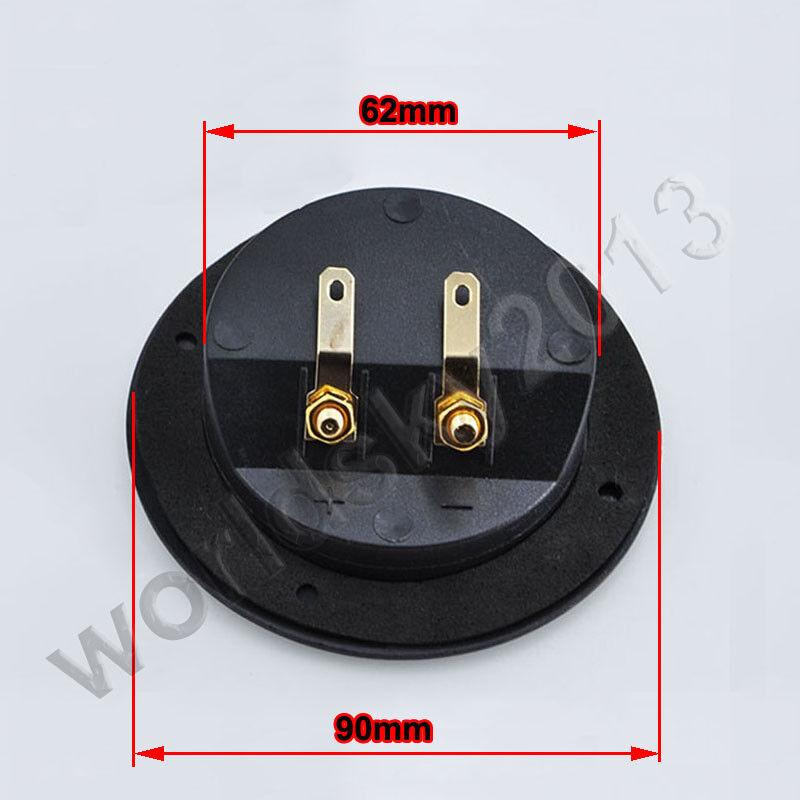 1pc 201C Full copper 2-Terminal Banana socket Speaker Box Binding Post 93*80MM
