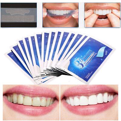3D White Gel Teeth Whitening Strips Tooth Dental kit Oral Hygiene Care Strip
