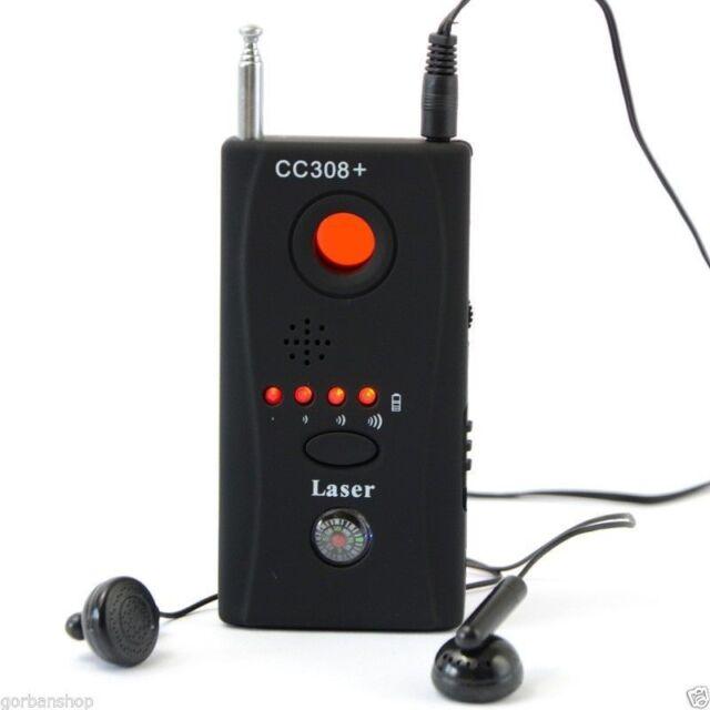 CC308+ Anti-Spy Signal Bug RF Detector Pro Hidden Camera Lens GSM Device Finder