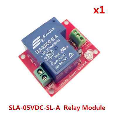 1-channel 5v Relay Module 30a 250v High-power For Arduino 8051 Avr Pic Dsp Arm