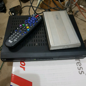 Bell 6400 with Hard drive for PVR