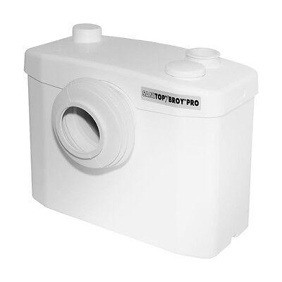 SFA Sanibroy Pro Sanitop Abwasserhebeanlage Hebeanlage für Waschtisch und WC