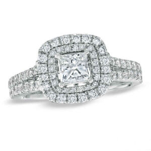 EMPRESS HER WITH THIS 1.45 CT DIAMOND VERA WANG RING(PICK UP )