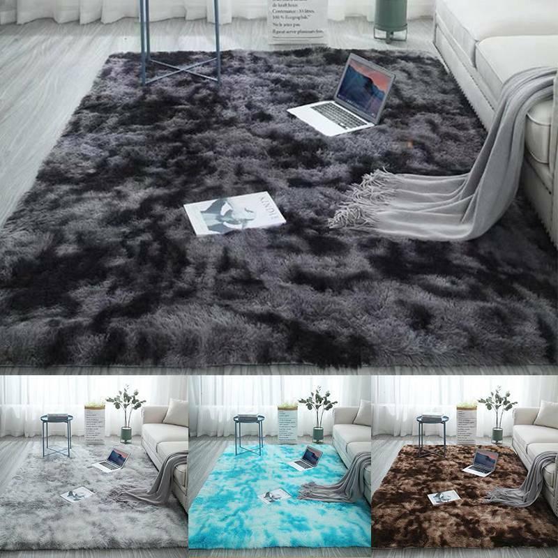 Shaggy Rugs Floor Carpet Living Room Bedroom Area Rug Home L