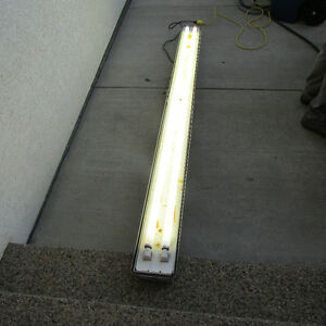 "8 Foot ""HIGH OUTPUT- COLD START""  Fluorescent Light Fixtures"