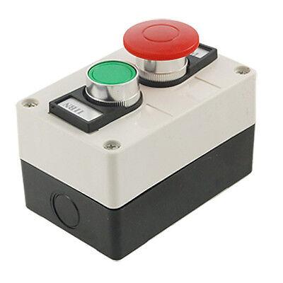 Red Mushroom Head Momentary Switch Push Button Station DT Momentary Push Button Switch