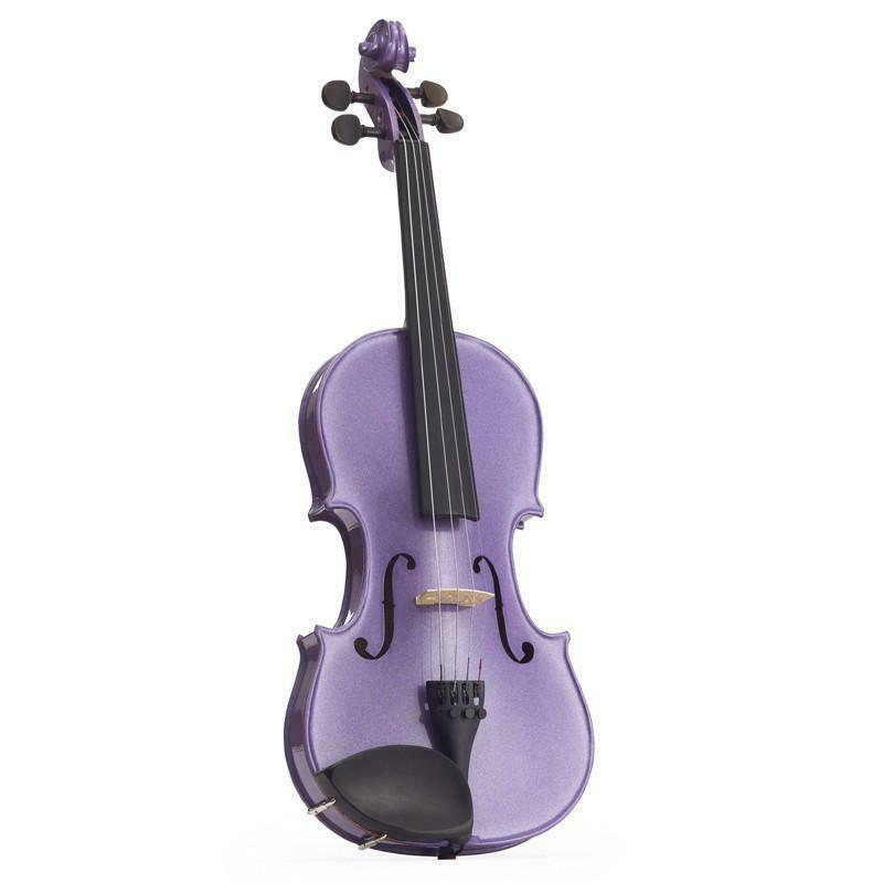 Stentor Harlequin Violin Outfit Light Purple 3/4 with Bow and Case