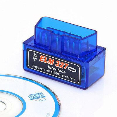 Mini ELM327 V2.1 Bluetooth OBD2 OBD II Diagnosegerät Testgerät Interface Scanner