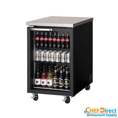 Everest Ebb23g 23 Back Bar Cooler W Glass Door
