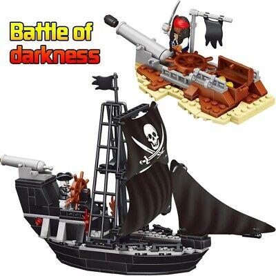 Pirates of the Caribbean The Black Pearl Pirate Mini Ship Legoed Blocks Toys (Caribbean Pirate Kit)