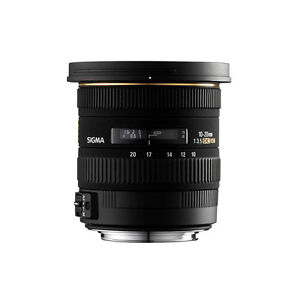Barely used sigma 10-35mm wide angle lens