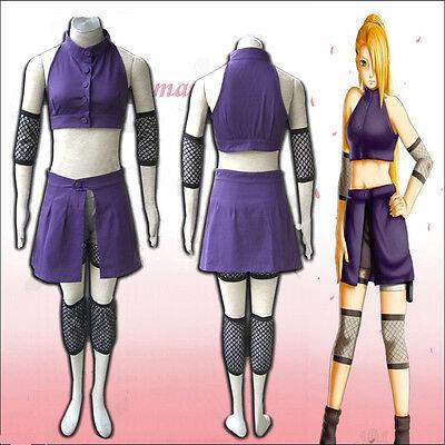 Naruto Cosplay Ino Yamanaka Cosplay Costume Second Generation Free - Ino Costume