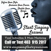 Voice Lessons At Any Age!