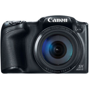 *-new Canon*PowerShot 16MP 30x Optical Zoom Digital Camera blac*
