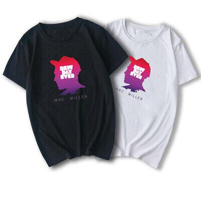 Men Mac Miller T-shirt Best Day Ever Summer Streetwear Hip Hop Rapper