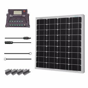 Renogy 50 Watt 12 Volt Monocrystalline Solar Starter Kit