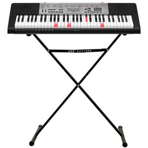 piano Casio electronic Keyboard piano like new piano with stand