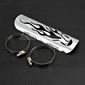 Exhaust Muffler Heat Shield Cover For Honda VT Shadow Aero Sabre Spirit 750 1100