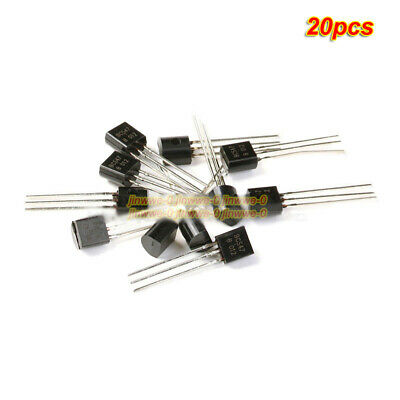20pcs Dip Triode Bc547 To-92 150mhz Pnp Semiconductor Transistor