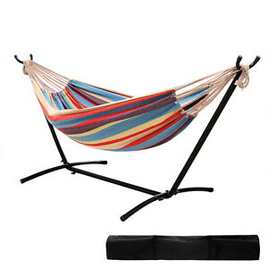 Ohuhu Double Hammock With Steel Stand