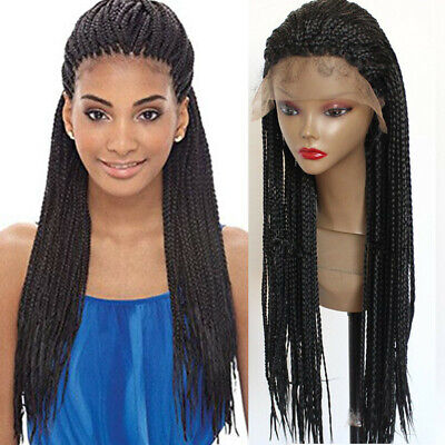 Braided Wig Long Braids Wig, Plait Braids, Lace Front Cheap Wigs US Stock