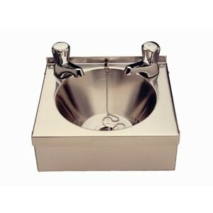 Vogue Small Hand Wash Basin With Taps Home Restaurant Bath