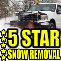 ***5 STAR SNOW REMOVAL!*** 24H Snow Clearing & Snow Cleaning
