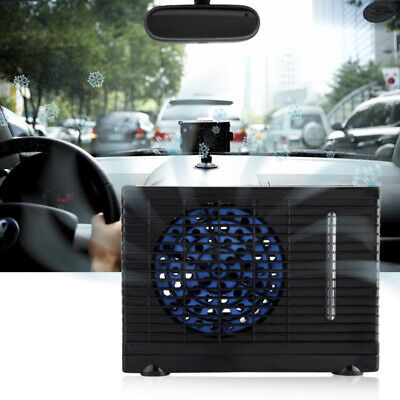 12V Air Conditioner Auto Car Vehicle Water Ice Evaporative Air Fan Cooling Fan