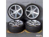 "19"" Veemann V-FS3 Alloy Wheels Ex Stock will fit VW Passat, Scirocco, Audi A4 ETC"