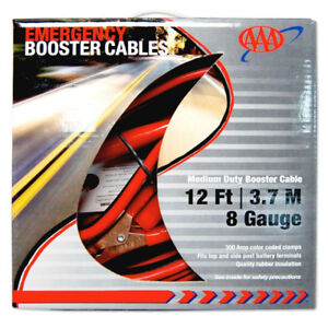 Booster Cables 12 ft 8 Gauge