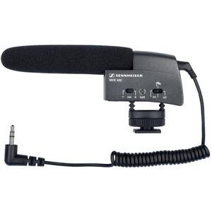 Sennheiser MKE 400 Shotgun Microphone, Black