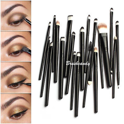 Makeup Brushes Set 20pcs Professional Powder Eyeshadow Eyeliner Lip Brush Tool