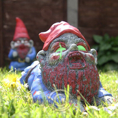 Zombie Gnome Crawler Garden Yard Decor Weather Resistant Lawn Gnomes Decorations
