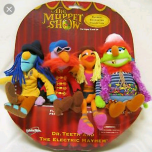 "The Muppets Show ""Dr Teeth and the Electric Mayham"" plush $45"