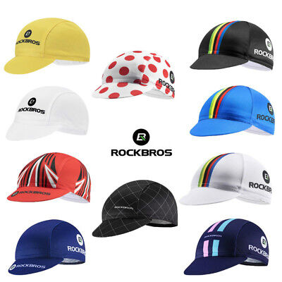 RockBros Bicycle Cycling Cap Hat Outdoor Sports Running Sunhat Suncaps One -