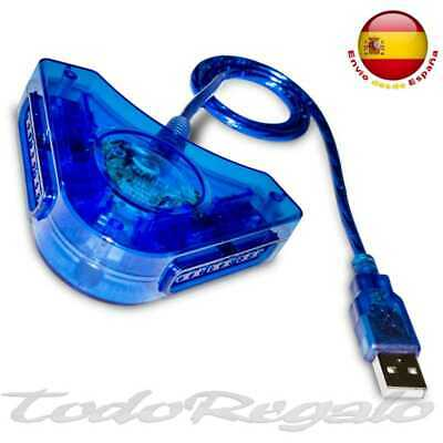 Conversor de Mando PS1 PS2 PSX Adaptador para Windows 7 10 Conector...