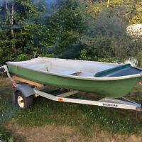 12 Foot Fibreglass Boat $500.00