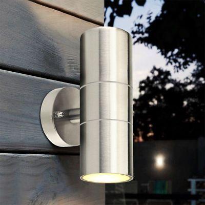 - Stainless Steel Outdoor Wall Sconce Waterproof Wall Light Fixture Porch Light
