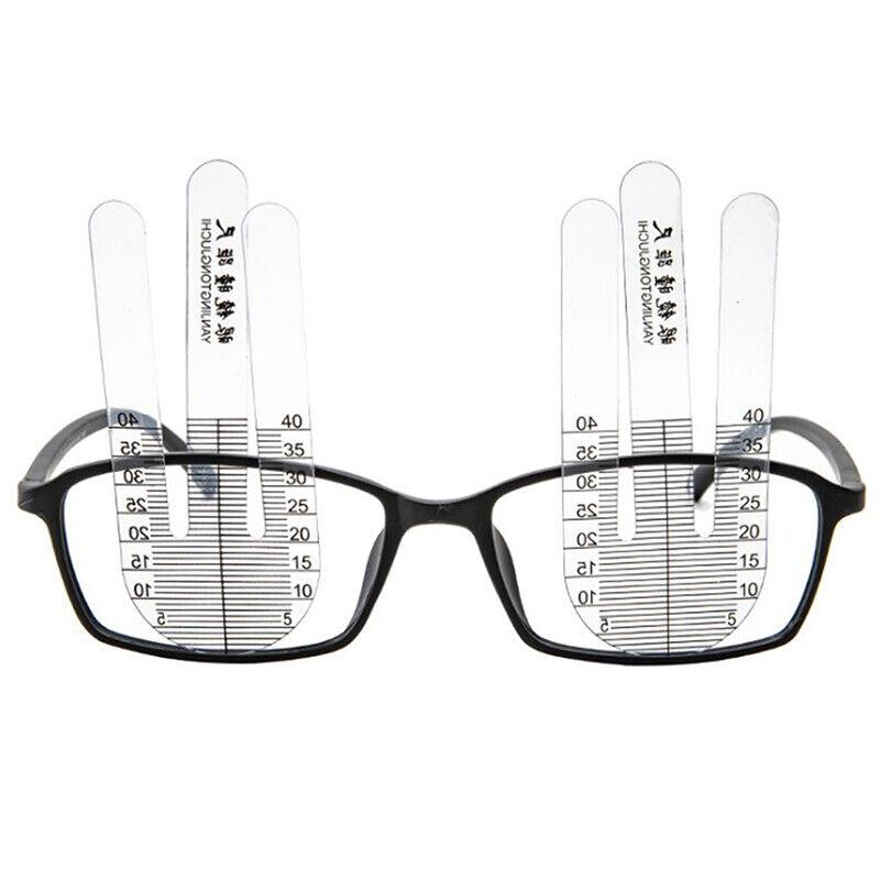1 Pair Optical PH Ruler Pupil Height Meter Optometry PH Test Eye Ophthalmic Too: